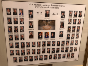 NM House of Representatives members, circa 2018